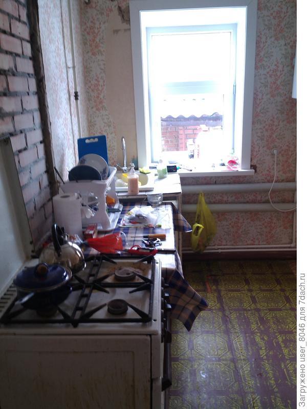 кухня в большом