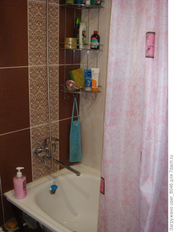 новая ванна в большом
