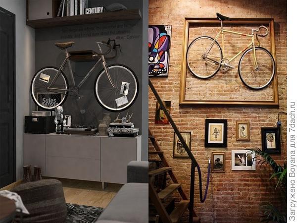 Велосипед - картина. Фото с сайта ru.pinterest.com