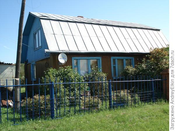 дачный дом 11*8 , размер с верандой