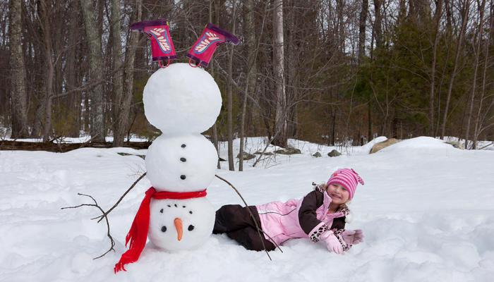 Идеи забавных снеговиков, или Дачный отдых в хорошей компании