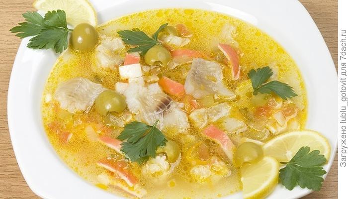 Рыбная солянка по-бериславски