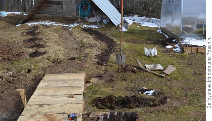 Садовая дорожка и другие весенние хлопоты