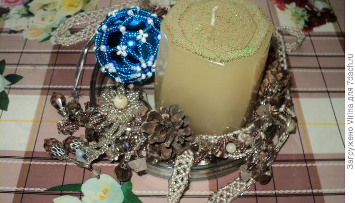 Изготовление декоративных свечей. Часть вторая
