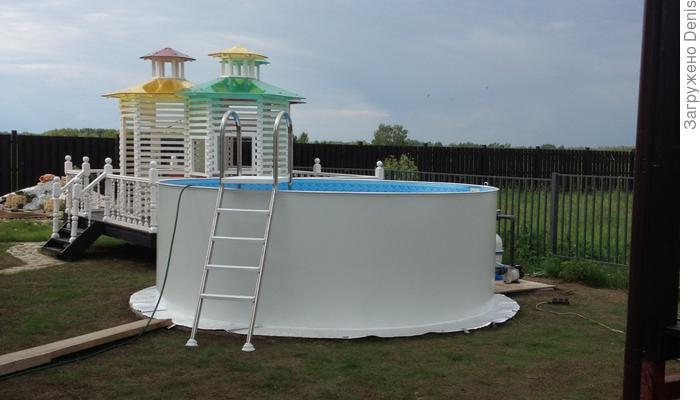 Собственный бассейн для дачи или вашего дома