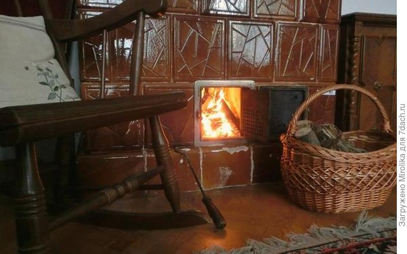 Потрескивание дров, тепло огня - что может быть уютнее?