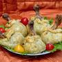 Куриные голени в тесте с начинкой