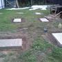Для фундамента сделал подушки 100х50х10. Сделал из доски формы и залил бетоном.