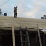 Обрешетка готова… ждём крышу..
