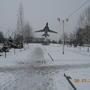 Зима в скверах моего города.