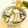 Салат по-московски с куриным филе, редисом и зеленью