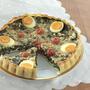 Мастер-класс: открытый пирог со шпинатом и творогом