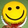 "Новогодний торт ""Поделись улыбкою своей!"""