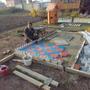Записки Старого ворчуна. Детская площадка, подготовительный этап. Песочница-кораблик для внучат