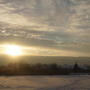 Закатное солнце