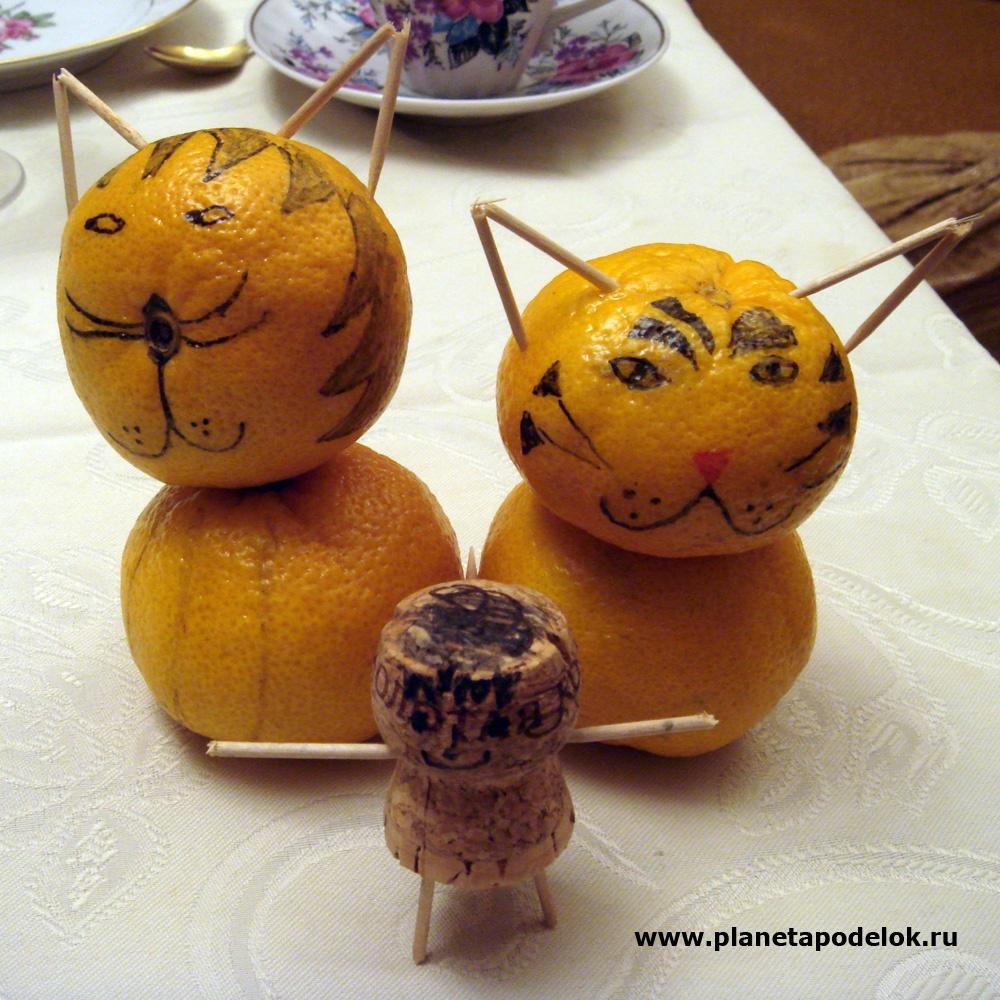 Поделка из апельсина в детский сад 95