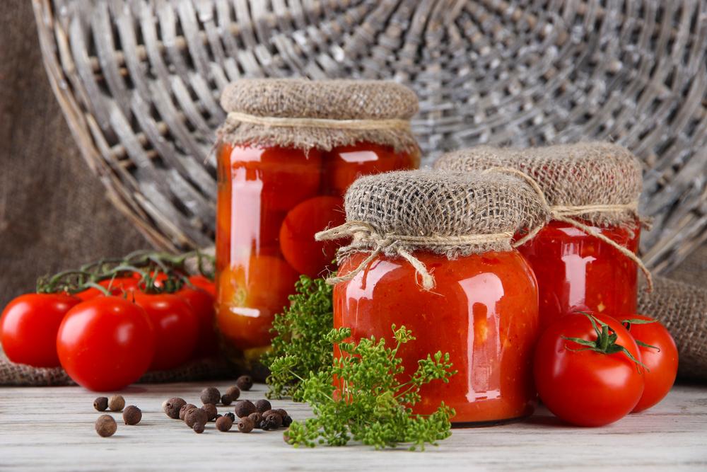 Заготовка помидоров на зиму