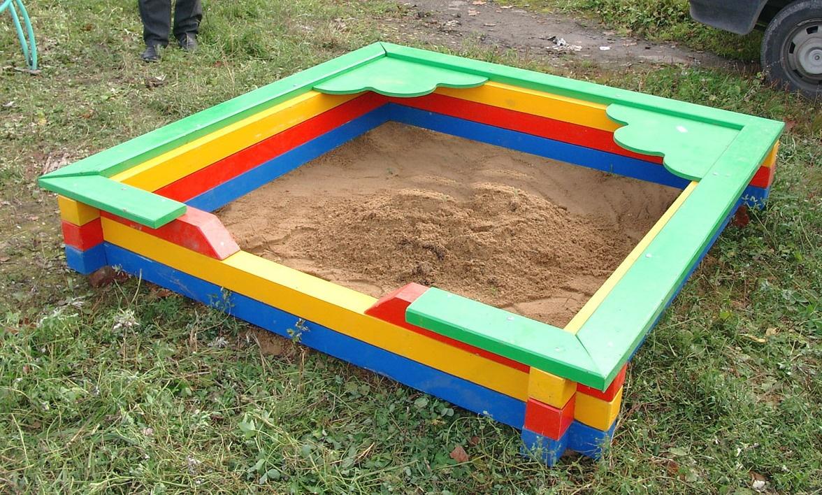 Песочница для детей с фото