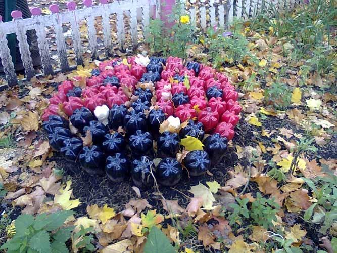 Поделки для цветов на даче своими руками