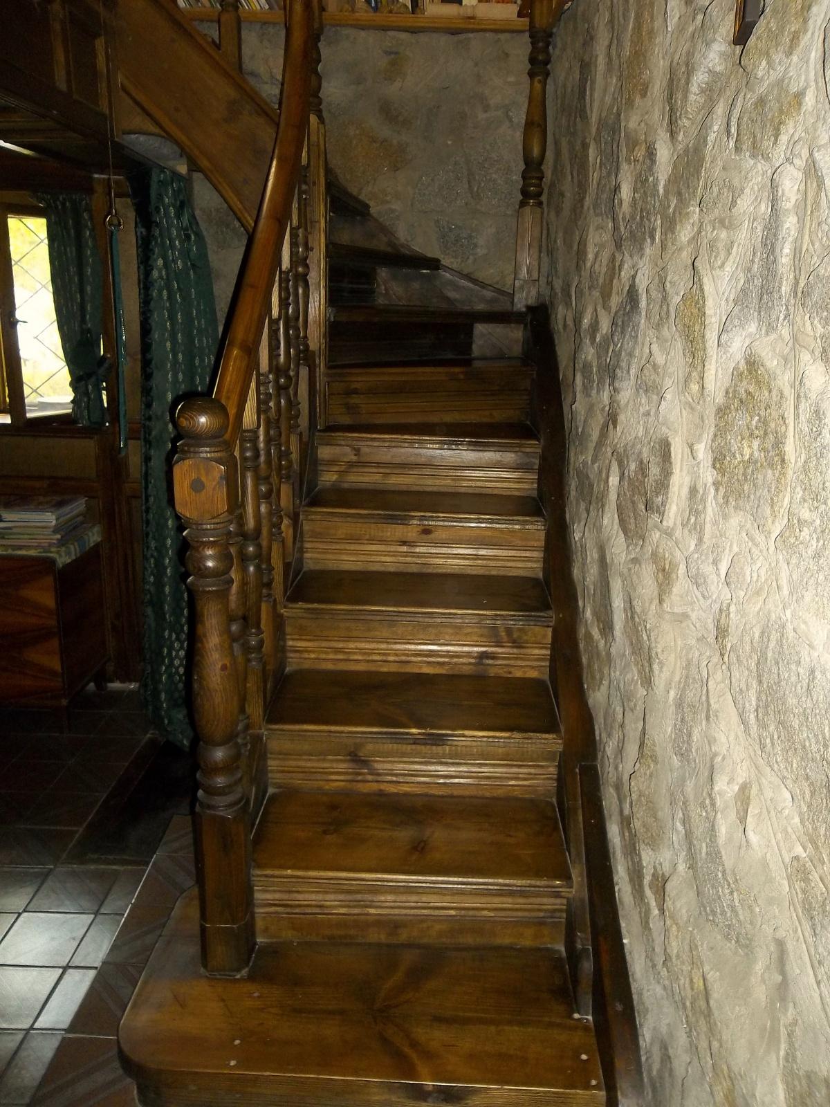 Как сделать самому забежные лестницы 20