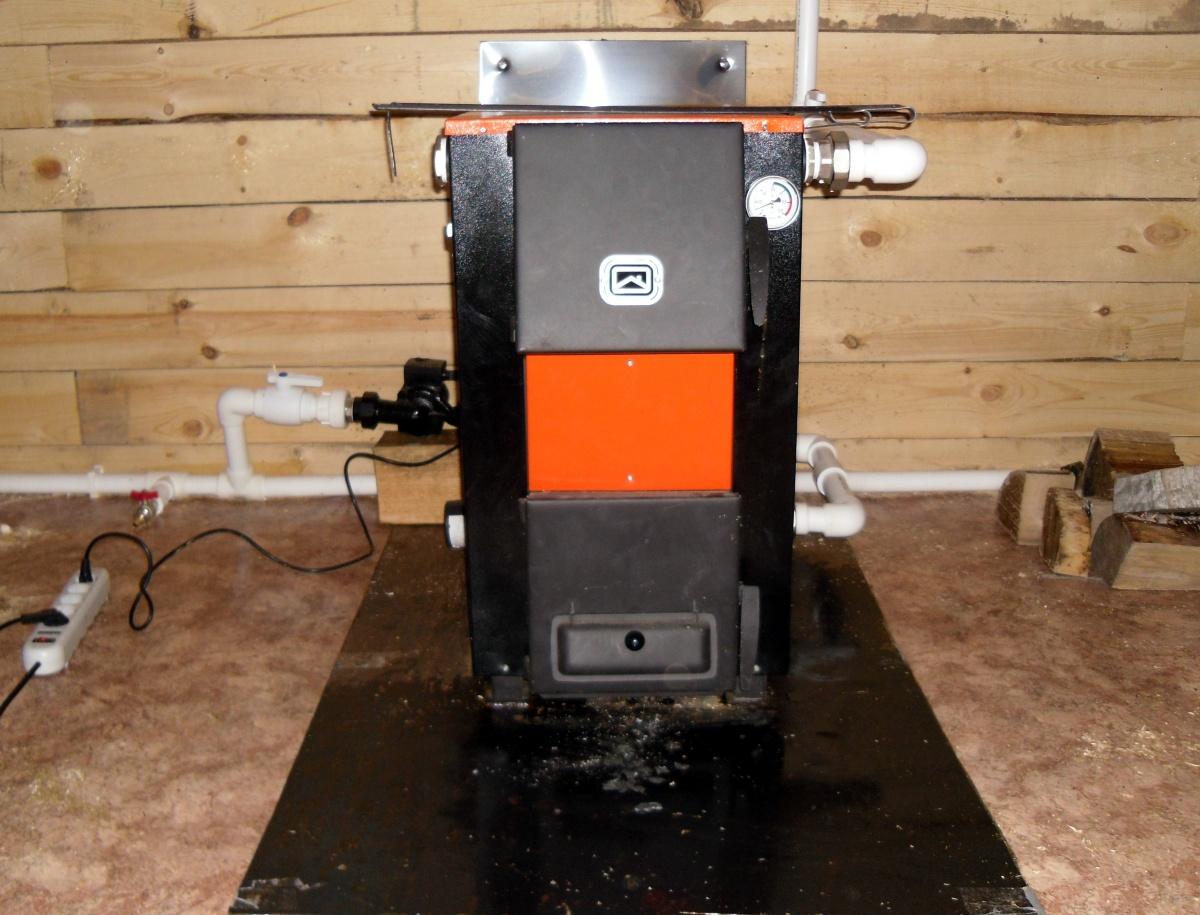 схема подключения 6 квт. тена котла теплодар