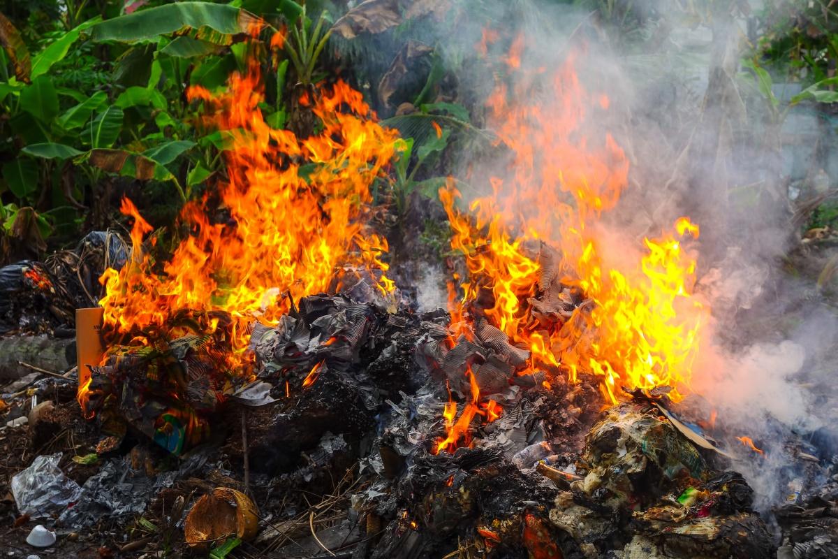 Законно ли сжигать мусор на свалке