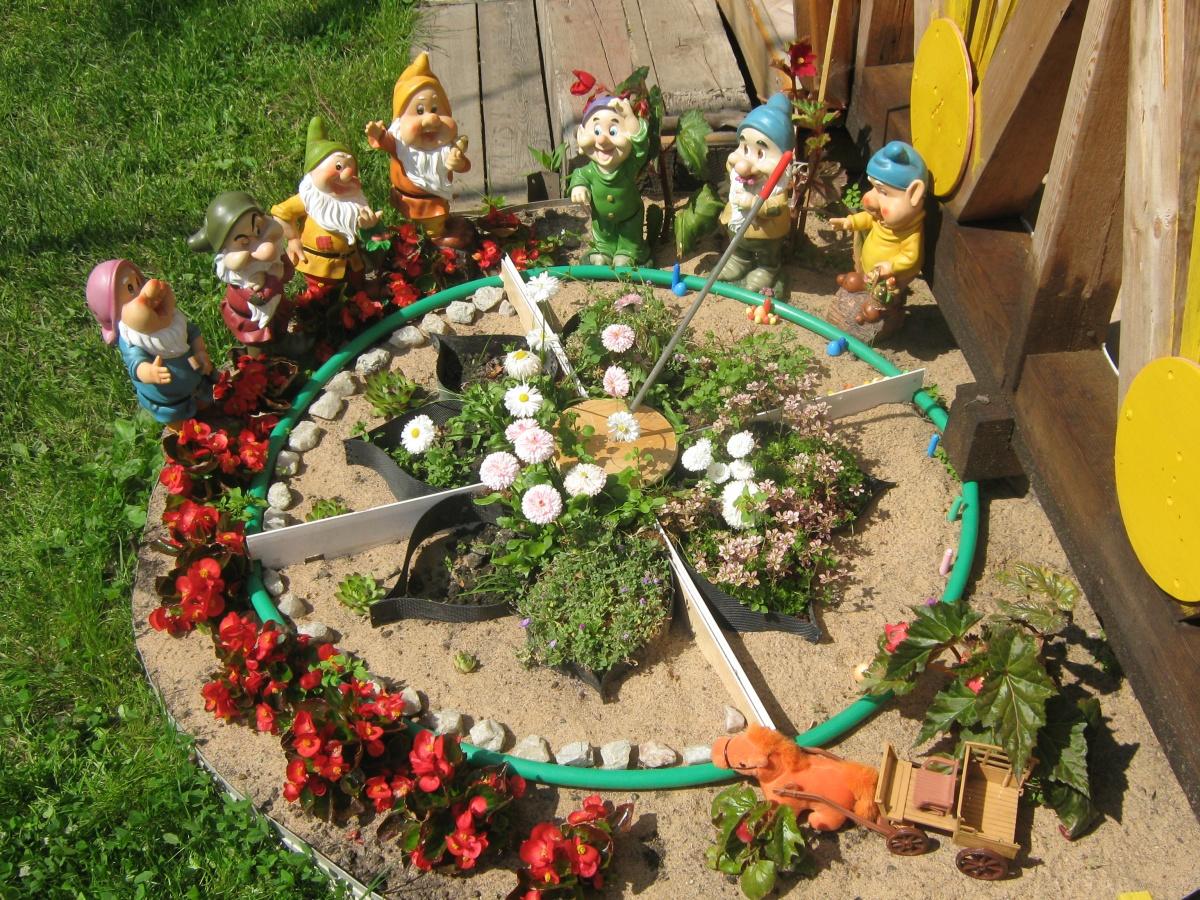 Поделки для сада из подручных материалов своими руками фото