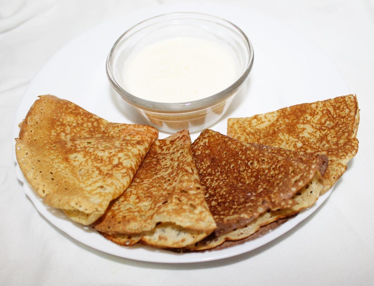 Как замесить блины на молоке пошаговый рецепт