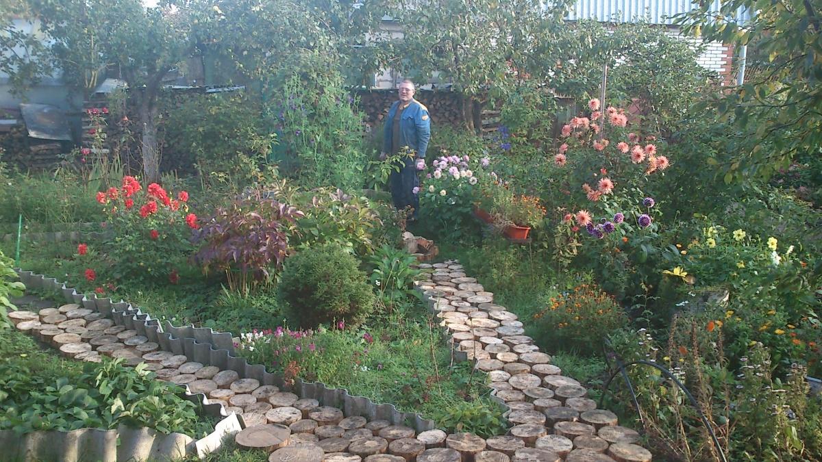 Ландшафтный дизайн сад и огород своими руками 68