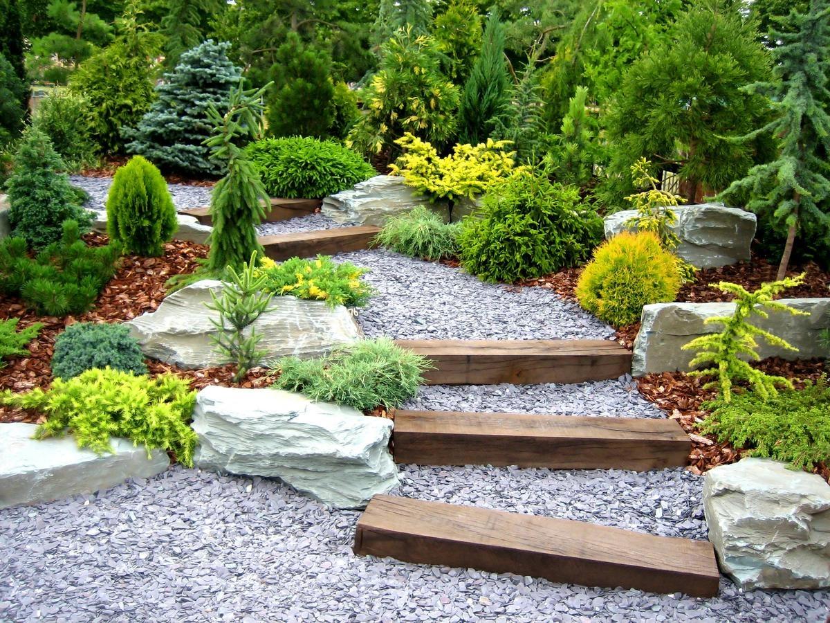 Фото садовый дизайн 20 фотография