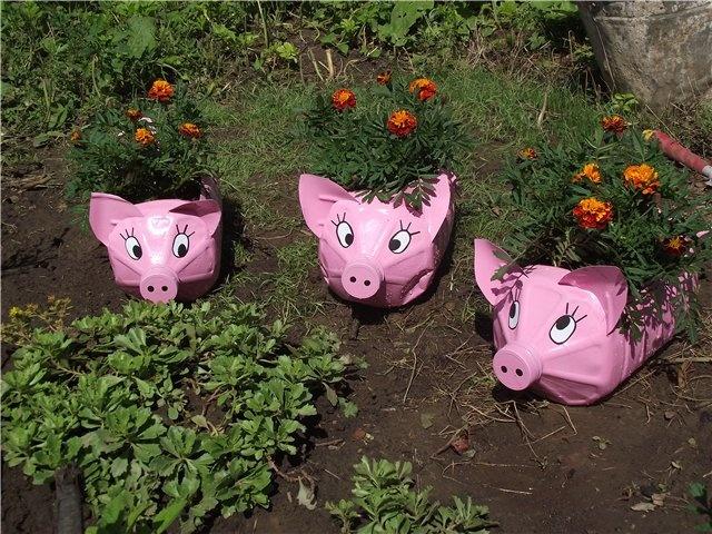Дачные поделки в саду своими руками фото фото 406