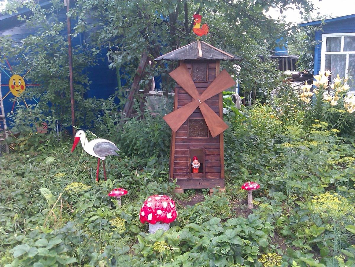 Декоративная мельница своими руками фото фото 986