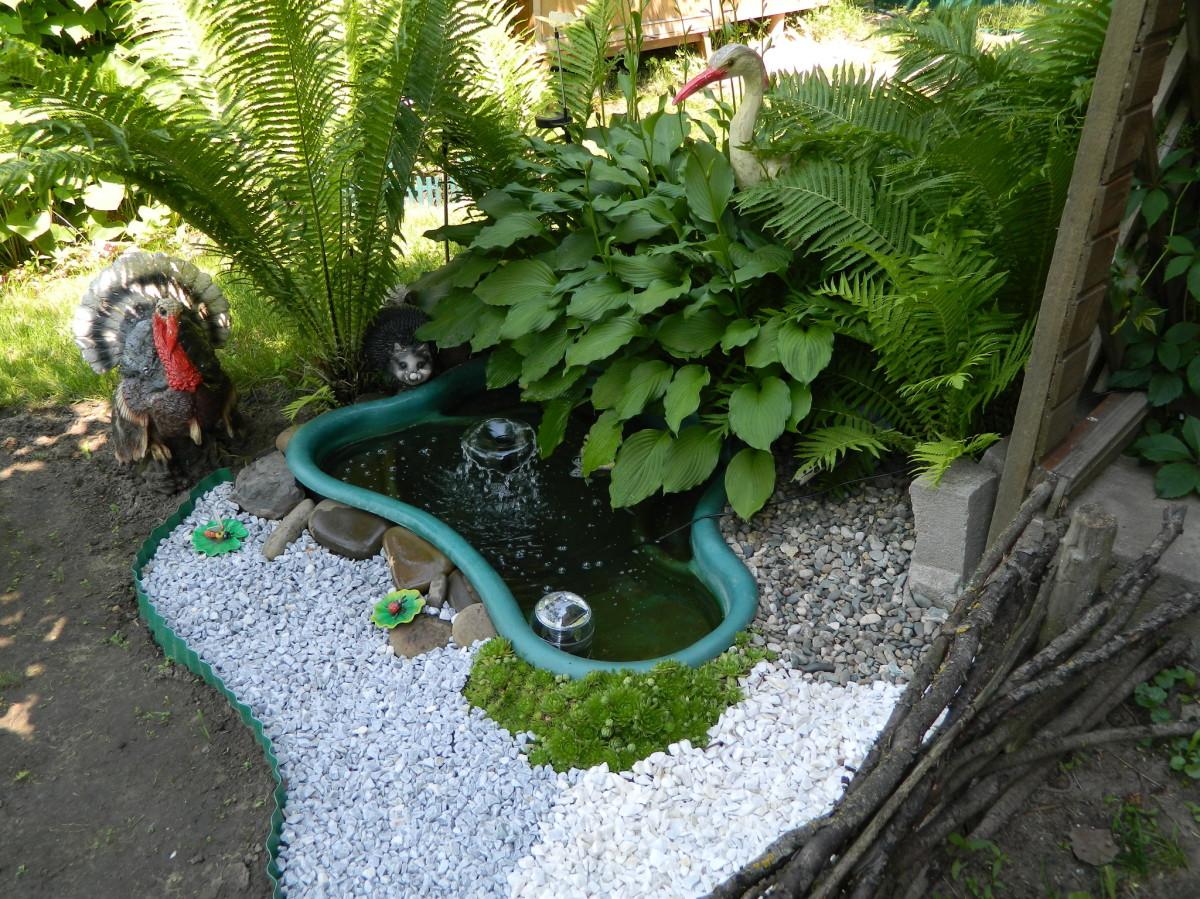 Как сделать пруд в своем огороде