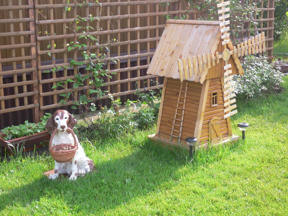 Мельница в сад своими руками пошаговая инструкция