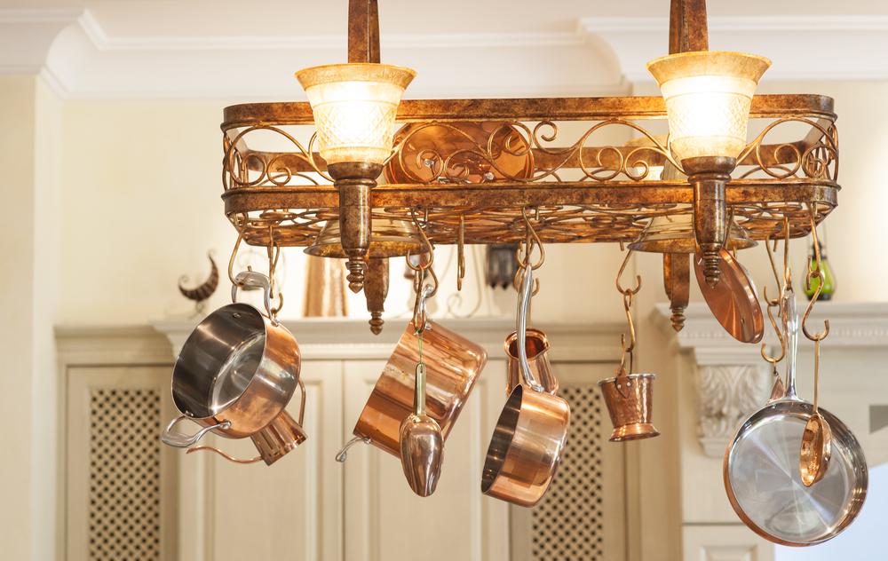Как своими руками сделать светильник на кухню