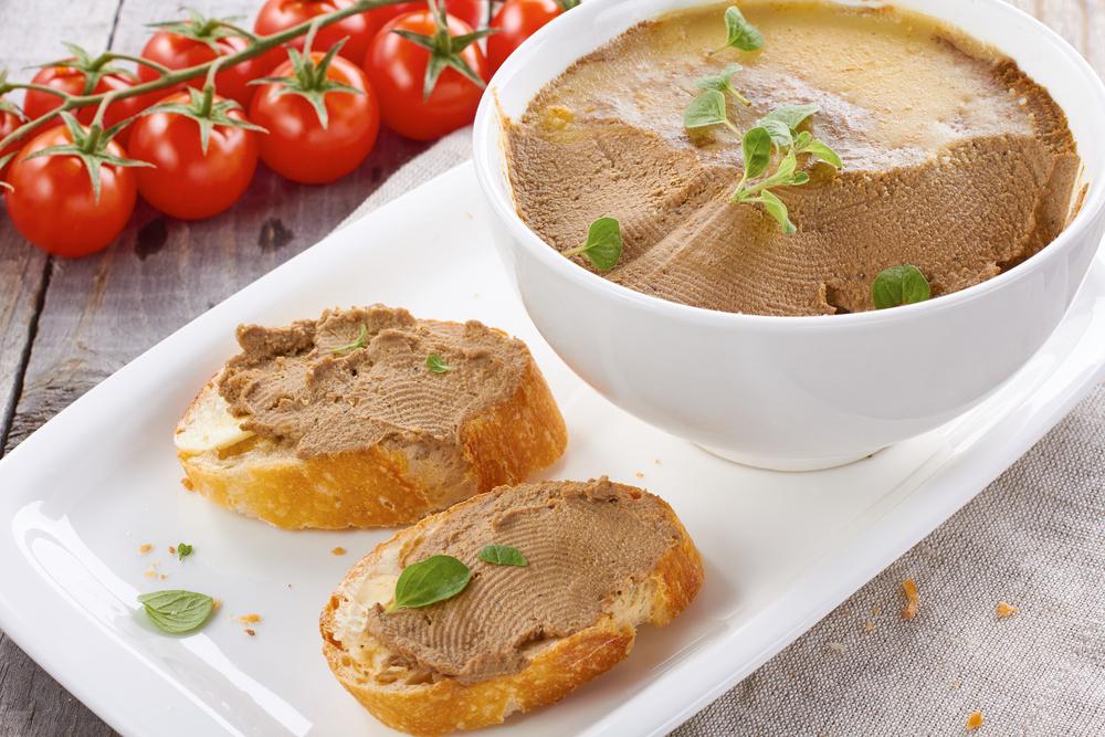 Рецепт домашнего паштета с куриной печени