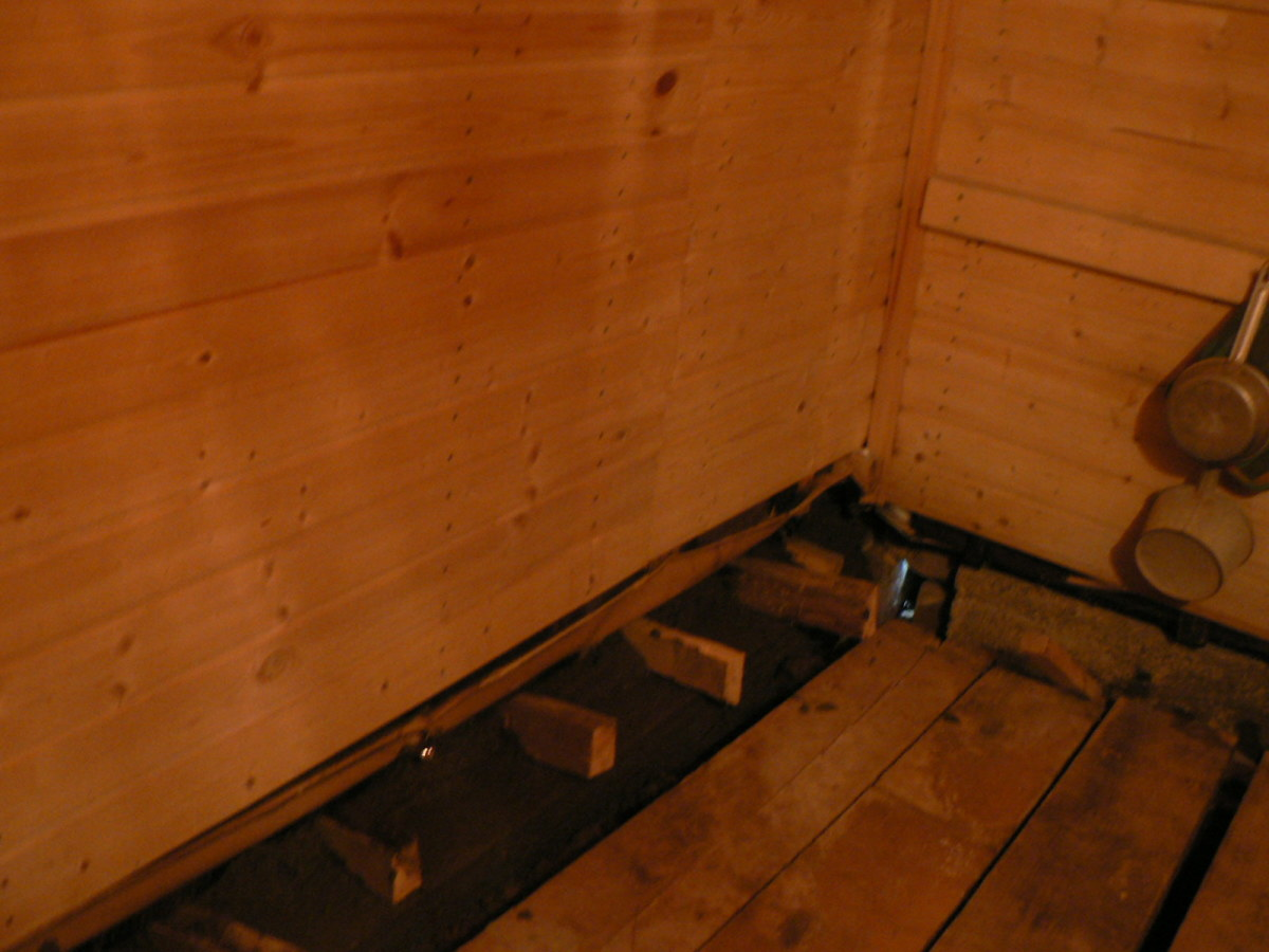 Как должна быть устроена моечная в бане 53
