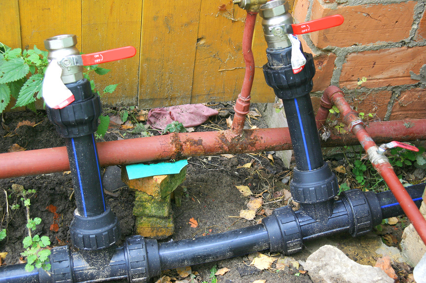 Как своими руками сделать водопровод на даче
