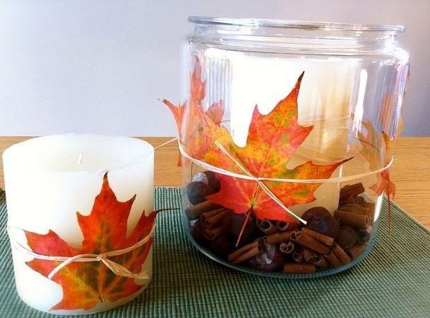Осенние поделки с шишками в садик