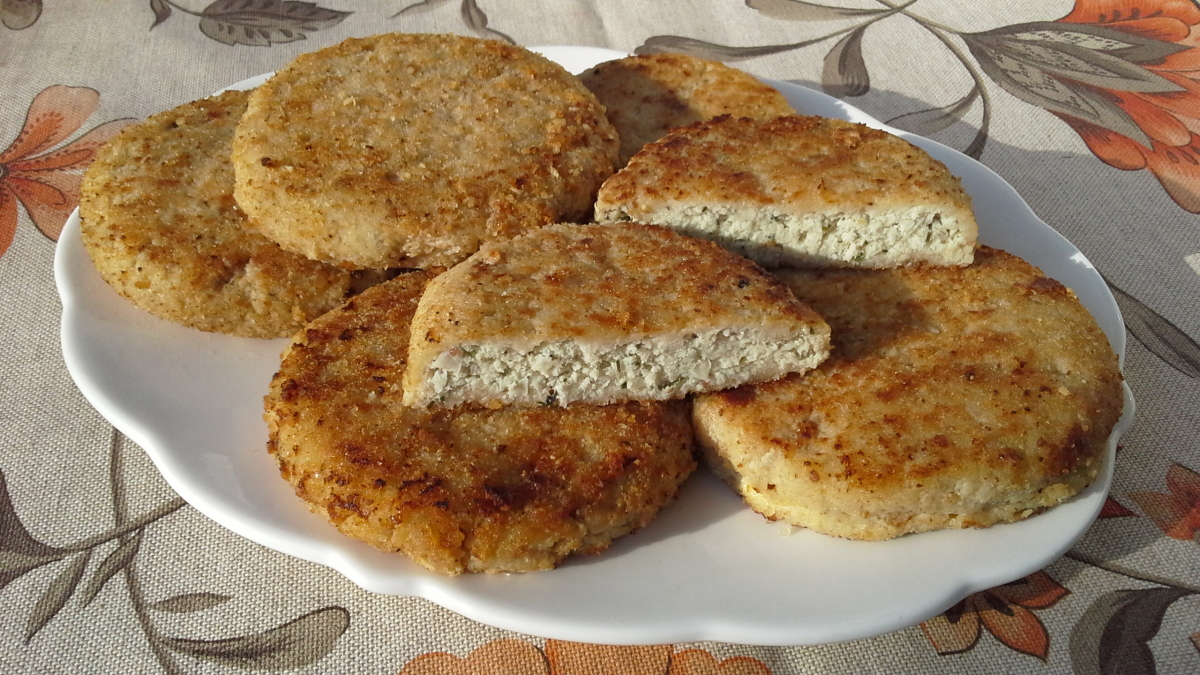 Котлеты с молоком и хлебом рецепт с пошагово
