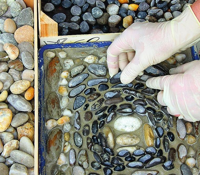 Мозаика своими руками из камня