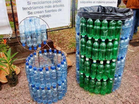 Идеи для дачи из пластиковых бутылок своими руками фото