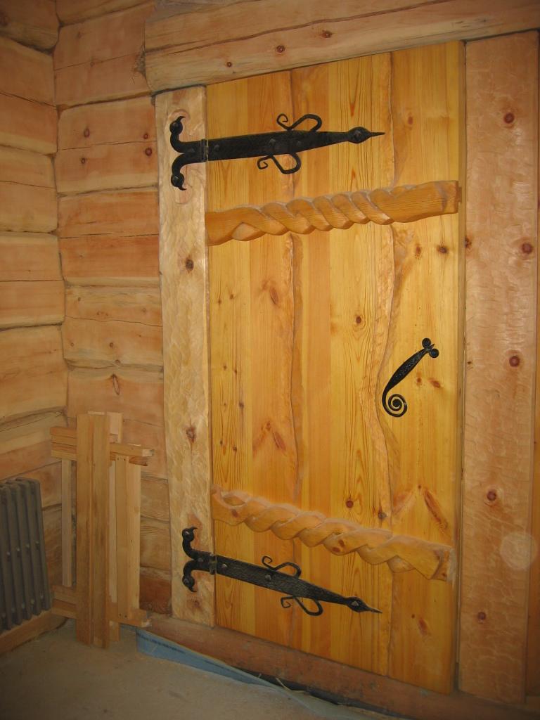 Как сделать своими руками входную дверь в дом 647