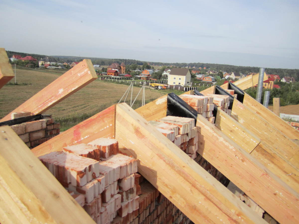 как зашить фронтоны на двухскатной крыше инструкция