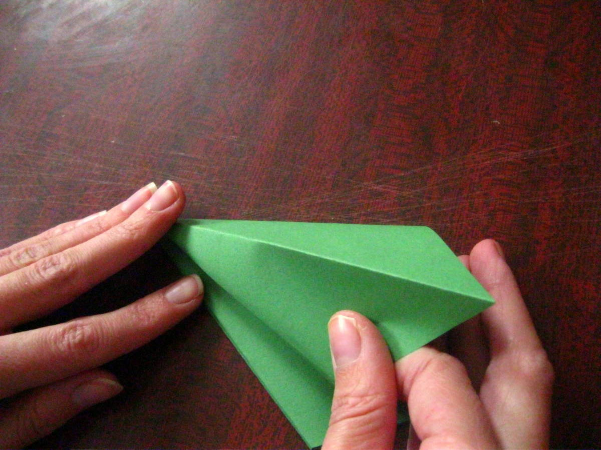 Как сделать из оригами как сделать перчатки
