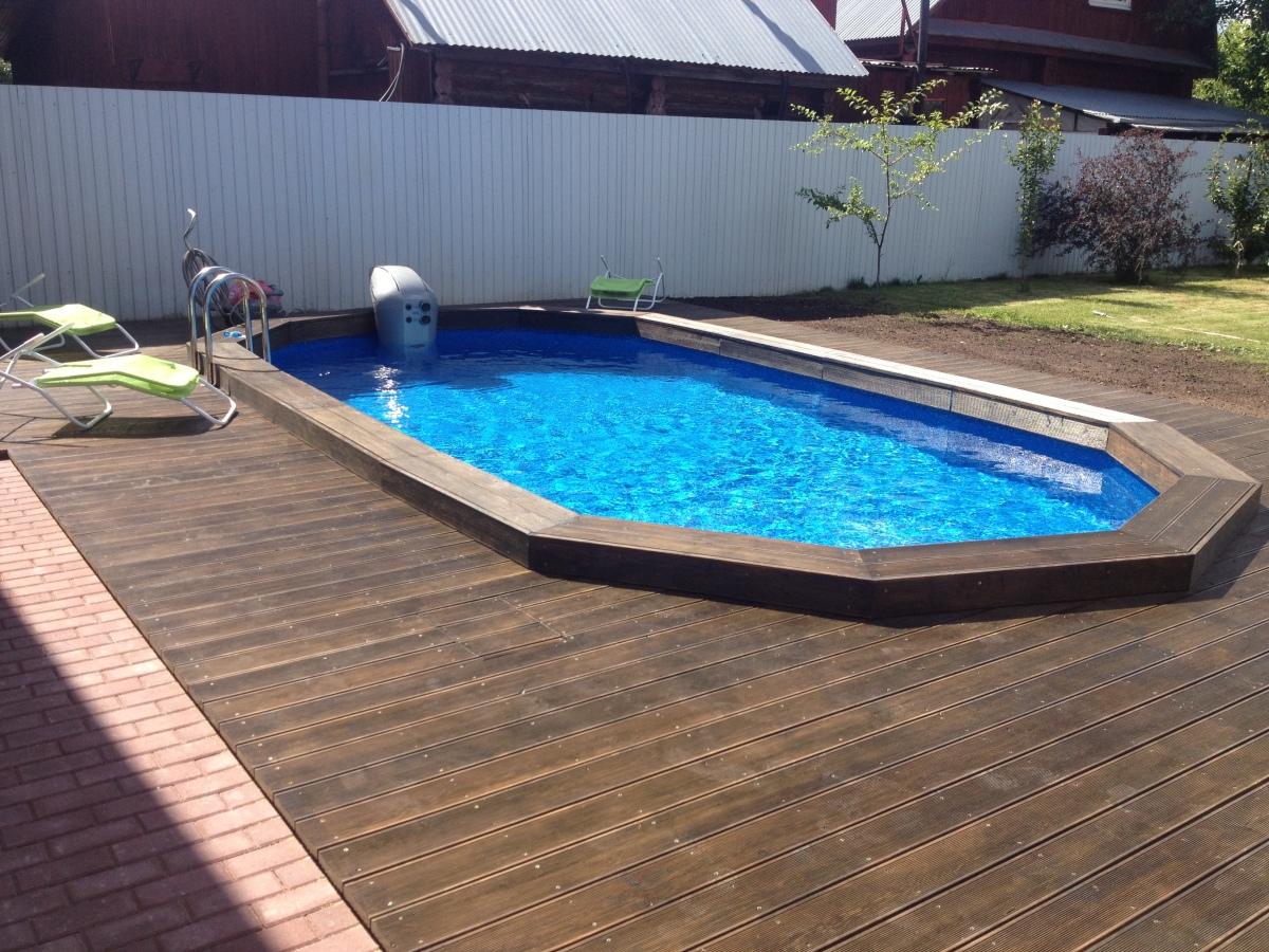 Как сделать недорогой бассейн