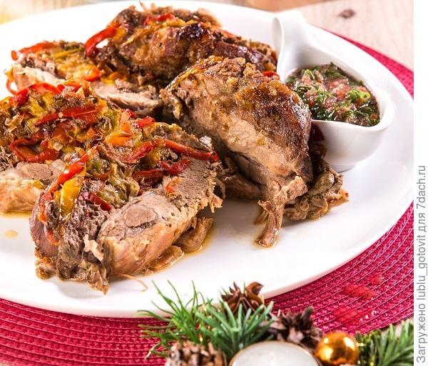 Праздничный стол 2020!  5 пошаговых рецептов блюд к Новому году