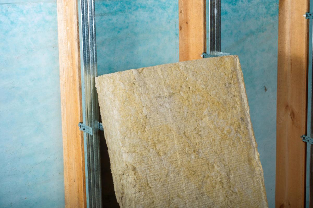 Каменная вата для шумоизоляции