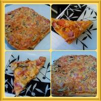 И румяна и вкусна, пицца для вашего стола!
