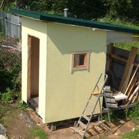 Как я построил туалет на даче этим летом!